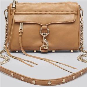 REBECCA MINKOFF tab crossbody leather purse NWT